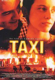 Cartel oficial en español de: Taxi