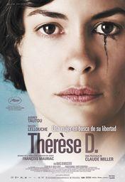 Cartel oficial en español de: Thérèse Desqueyroux