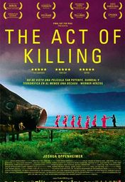 Cartel oficial en español de: The Act of Killing