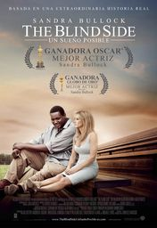 Cartel oficial en español de: The blind side (Un sueño posible)