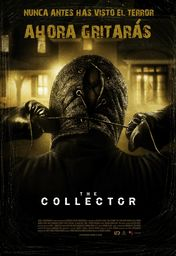 Cartel oficial en español de: The Collector