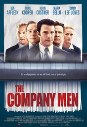 Cartel oficial en español de: The company Men