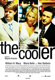 Cartel oficial en español de: The Cooler