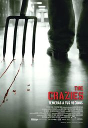 Cartel oficial en español de: The crazies