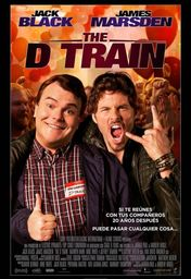 Cartel oficial en español de: The D Train