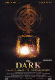 Cartel oficial en español de: The Dark