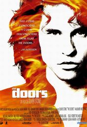 Cartel oficial en español de: The Doors