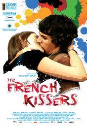 Cartel oficial en español de: The French Kissers