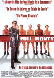 Cartel oficial en español de: The Full Monty