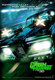 Cartel oficial en español de: The Green Hornet