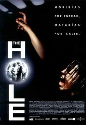 Cartel oficial en español de: The Hole
