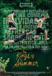 Cartel oficial en español de: The Kings of Summer