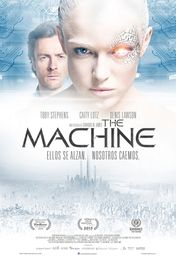 Cartel oficial en español de: The Machine