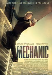 Cartel oficial en español de: The Mechanic