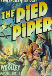 Cartel oficial en español de: The Pied Piper