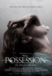 Cartel oficial en español de: The possession (El origen del mal)