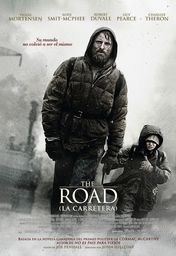 Cartel oficial en español de: The Road (La carretera)