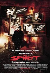 Cartel oficial en español de: The Spirit