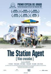 Cartel oficial en español de: The Station Agent (Vías cruzadas)