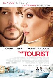 Cartel oficial en español de: The Tourist