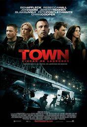 Cartel oficial en español de: The town (Ciudad de ladrones)