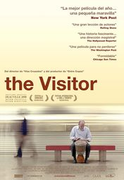 Cartel oficial en español de: The Visitor