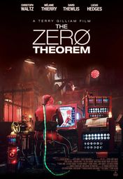 Cartel oficial en español de: The Zero Theorem