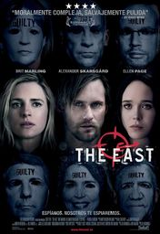 Cartel oficial en español de: The east