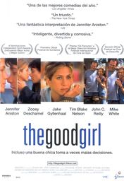 Cartel oficial en español de: The good girl