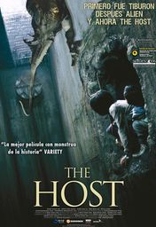 Cartel oficial en español de: The Host