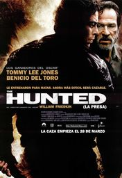 Cartel oficial en español de: The hunted (La presa)