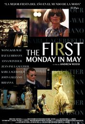 Cartel oficial en español de: The First Monday in May