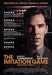 Cartel oficial en español de: The Imitation Game (Descifrando Enigma)