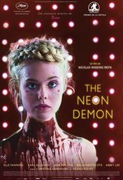 Cartel oficial en español de: The Neon Demon