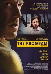 Cartel oficial en español de: The Program (El ídolo)