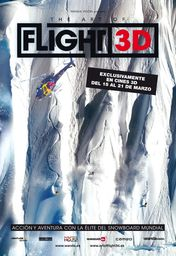 Cartel oficial en español de: The art of flight 3D