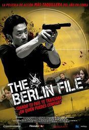 Cartel oficial en español de: The Berlin file