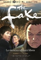 Cartel oficial en español de: The Fake