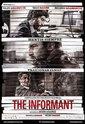 Cartel oficial en español de: The Informant