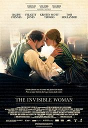 Cartel oficial en español de: The Invisible Woman