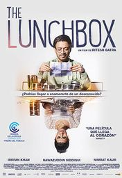 Cartel oficial en español de: The Lunchbox