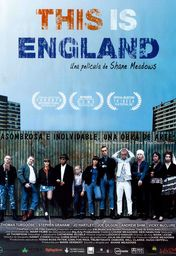 Cartel oficial en español de: This is England