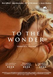 Cartel oficial en español de: To The Wonder