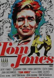 Cartel oficial en español de: Tom Jones