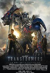 Cartel oficial en español de: Transformers: La era de la extinción