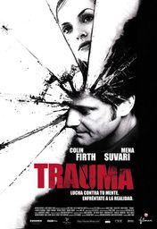 Cartel oficial en español de: Trauma