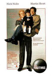 Cartel oficial en español de: Tres fugitivos (1989)