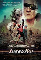 Cartel oficial en español de: Turbo Kid