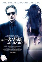 Cartel oficial en español de: Un hombre solitario