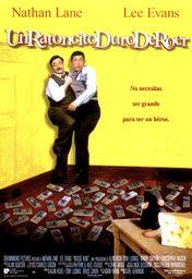 Cartel oficial en español de: Un ratoncito duro de roer